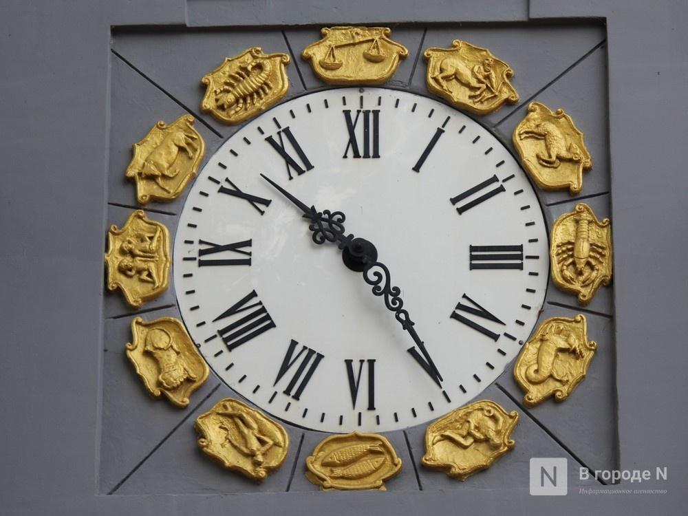 Хранители времени: самые необычные уличные часы Нижнего Новгорода - фото 1