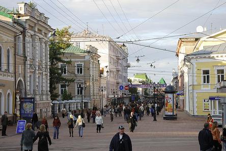 Названы победившие в рейтинговом голосовании территории Нижнего Новгорода
