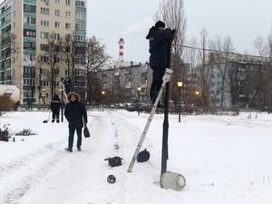 Фонари на бульваре Заречном отремонтировали по просьбам жителей