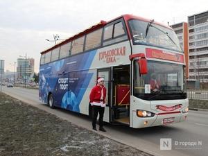 Более 3000 человек прокатились на экскурсионном даблдекере по Нижнему Новгороду