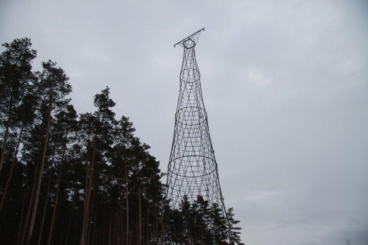 Шуховскую башню в Дзержинске оборудуют стилизованной подсветкой - фото 1